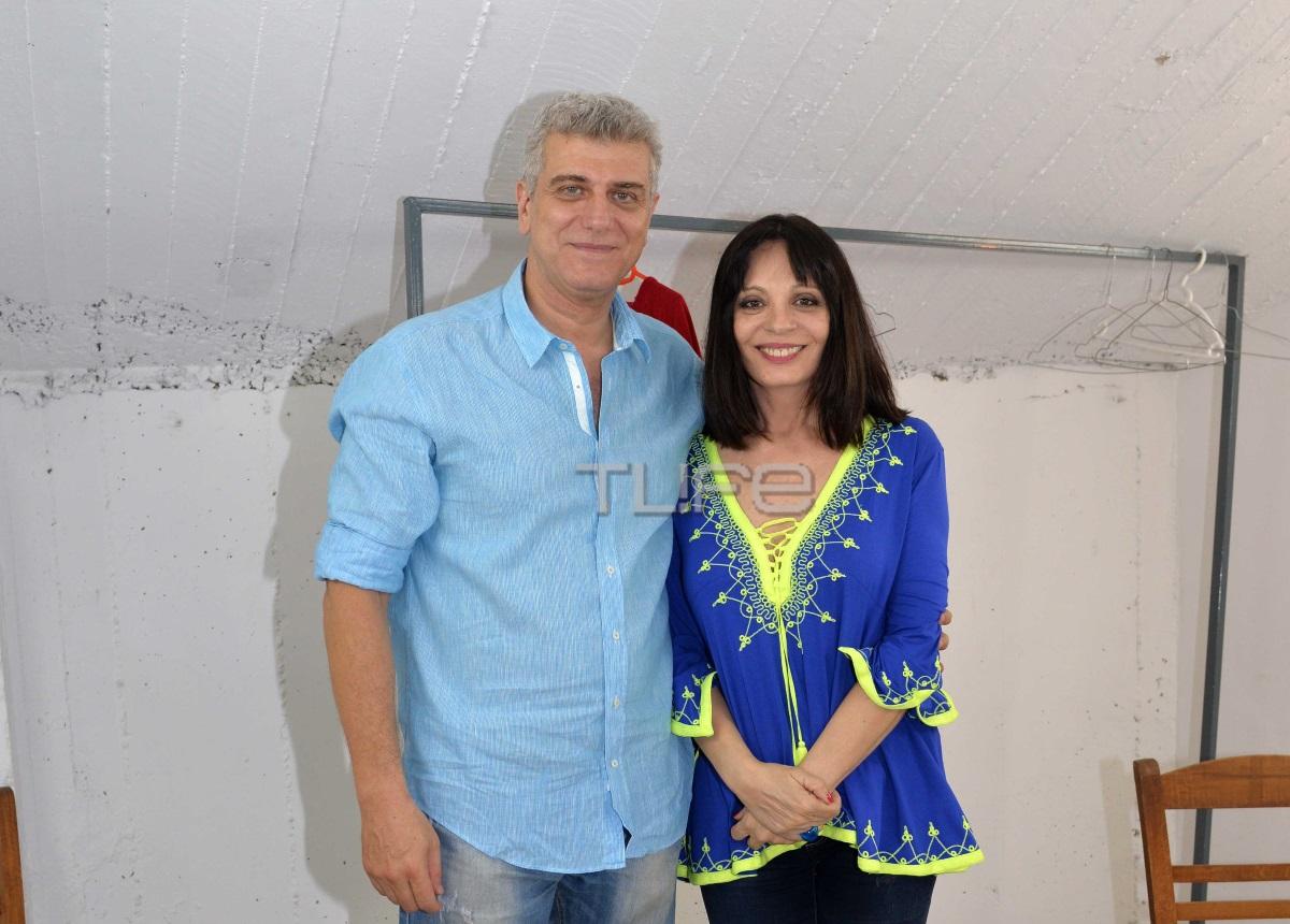 Βλαδίμηρος Κυριακίδης: Πρεμιέρα με την σύζυγό του στο πλευρό του! [pics]