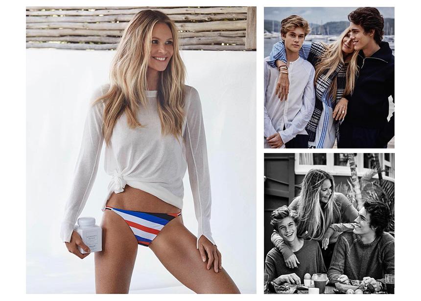 "Elle Macpherson: ""Το Κορμί"", φωτογραφίζεται με τους γιους της και μιλά για την μητρότητα στην αυστραλιανή Vogue"