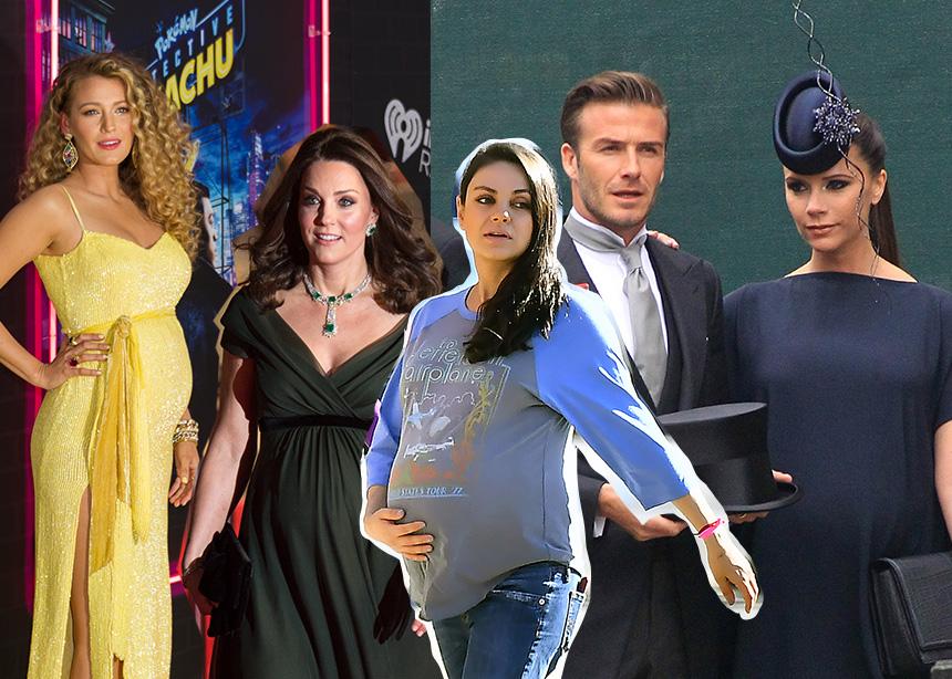 Εγκυμοσύνη: Τι λαχταρούσαν να φάνε πιο πολύ αυτές οι 10 celebrities