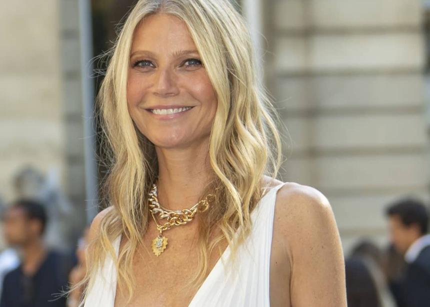 Η Gwyneth Paltrow με αυτό το φόρεμα θυμίζει αρχαία Ελληνίδα θεά!