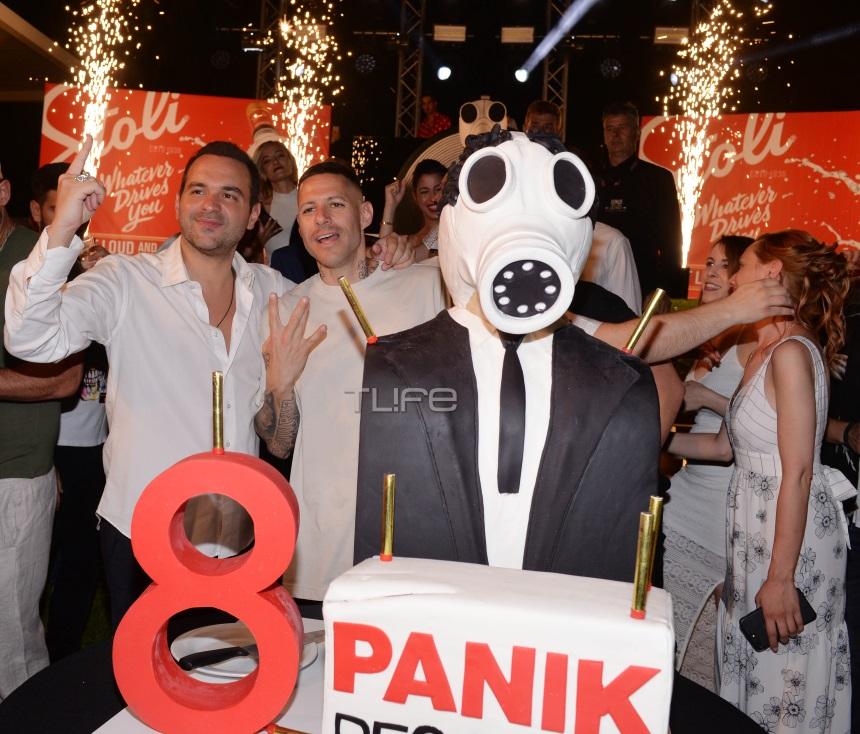 Παρέλαση επωνύμων στο λαμπερό πάρτι για τα 8α γενέθλια της Panik Records! [pics]
