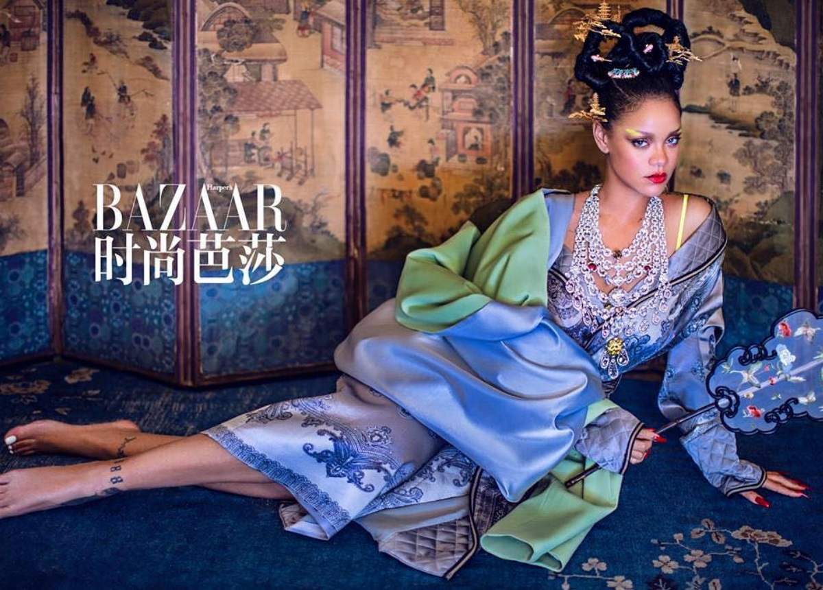 Rihanna: Η εντυπωσιακή φωτογράφιση για το κινέζικο Harper's Bazaar που προκάλεσε αντιδράσεις!