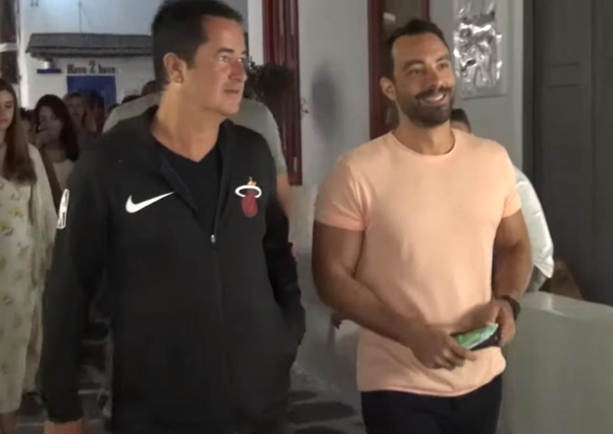 Σάκης Τανιμανίδης – Χριστίνα Μπόμπα: Βόλτες στη Μύκονο με τον Acun Ilicali και τη νέα του σύντροφο!