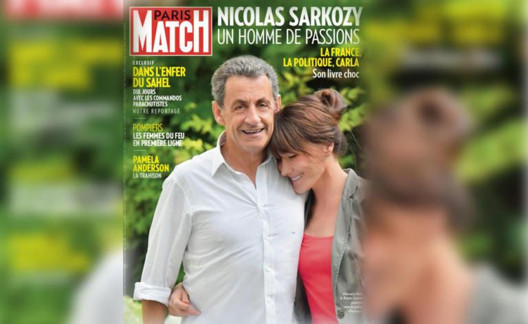 Ο Σαρκοζί ψήλωσε στο εξώφυλλο του Paris Match! Πιο ψηλός και από την Κάρλα Μπρούνι | tlife.gr
