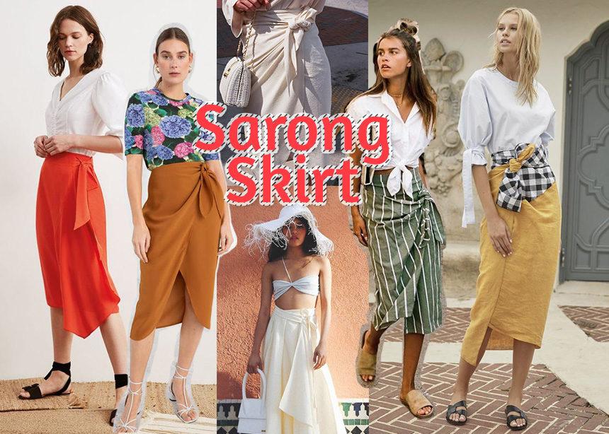 Sarong skirt!Η φούστα που θυμίζει παρεό φοριέται όλη μέρα και εδώ θα δεις πως! | tlife.gr
