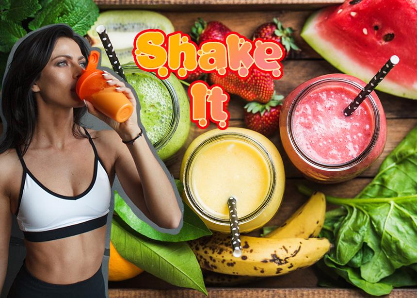 Αυτά είναι τα 6 shakes που θα θες να πιεις μετά το γυμναστήριο
