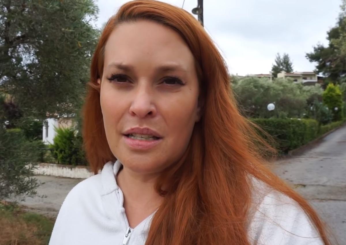 Σίσσυ Χρηστίδου: Περιγράφει στην κάμερα όσα είδε στη Χαλκιδική μετά τη φονική θεομηνία [video]