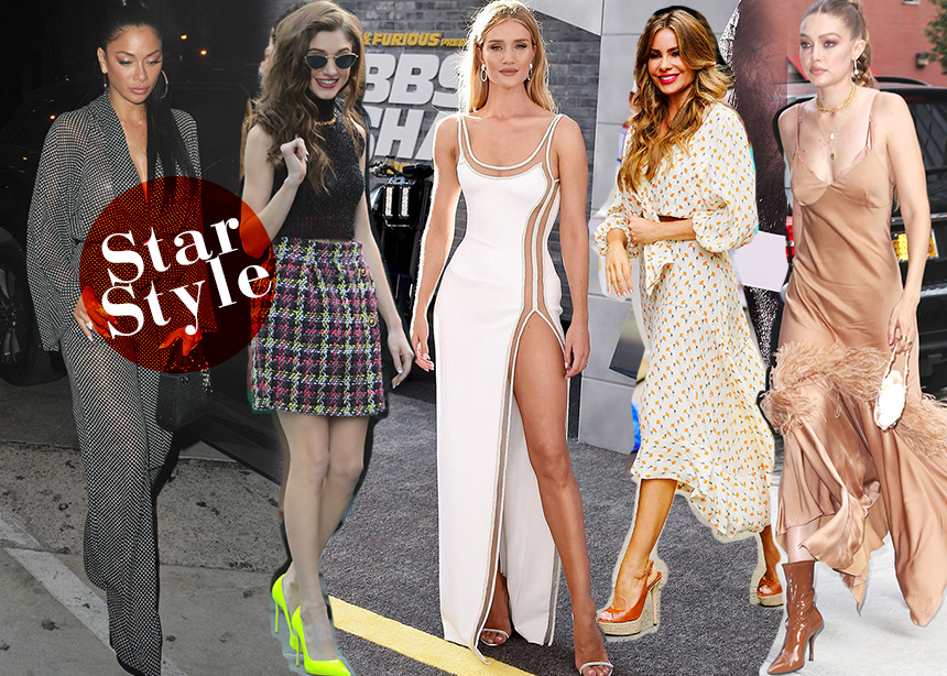 Gigi Hadid, Sofia Vergara,  Rosie Huntington, ποιά εμφάνιση ξεχωρίζεις;