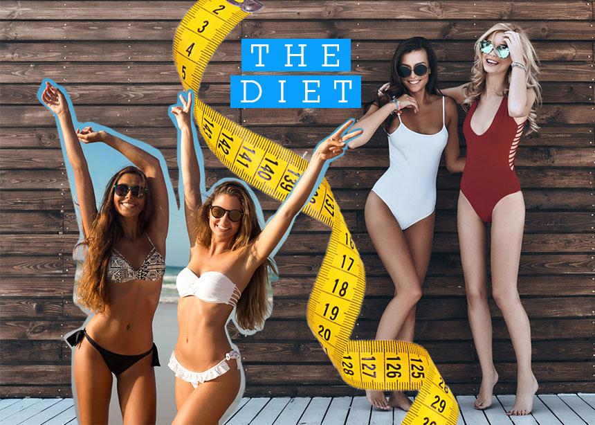 The Diet Challenge (week I): Το πρόγραμμα διατροφής που σε τέσσερις εβδομάδες θα σε κάνει να λάμπεις μέσα στο μπικίνι σου