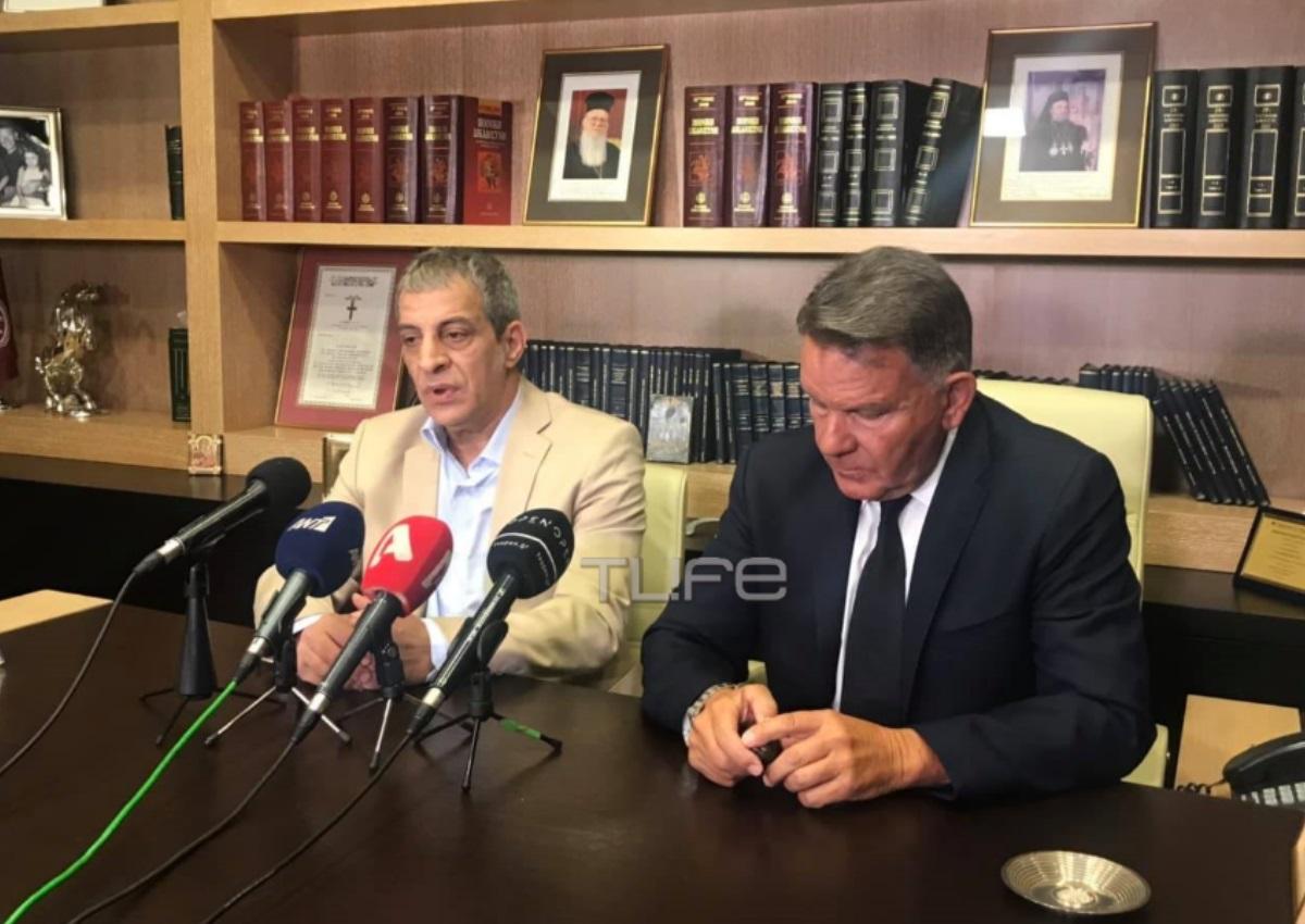 Θέμης Αδαμαντίδης: Οι πρώτες εικόνες μετά τον ξυλοδαρμό του και όσα δήλωσε στην συνέντευξη Τύπου