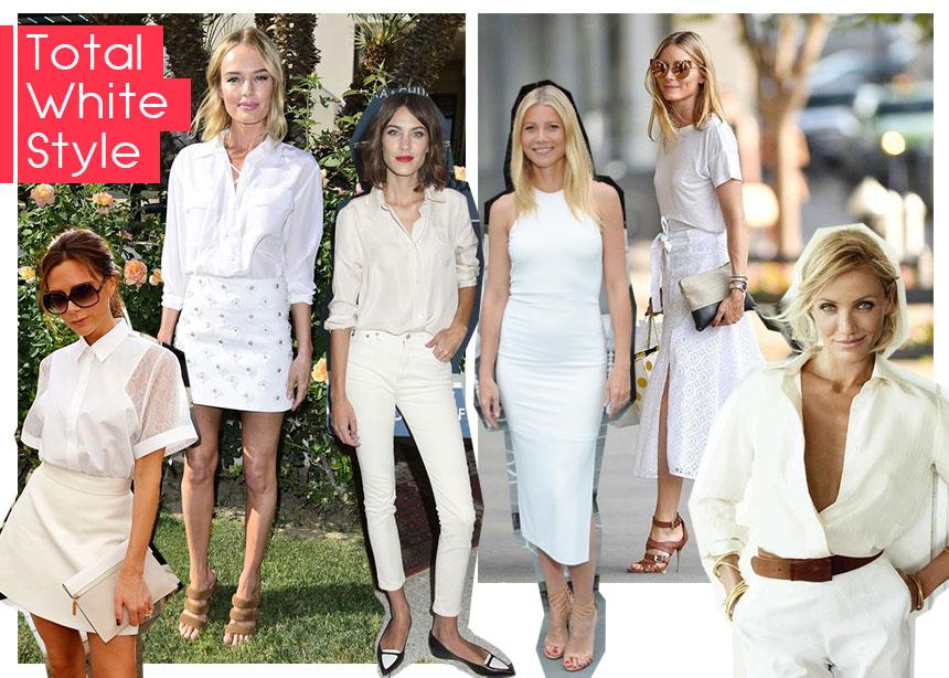 Τotal white: οι διάσημες σου δίνουν styling tips για να το φορέσεις σωστά!