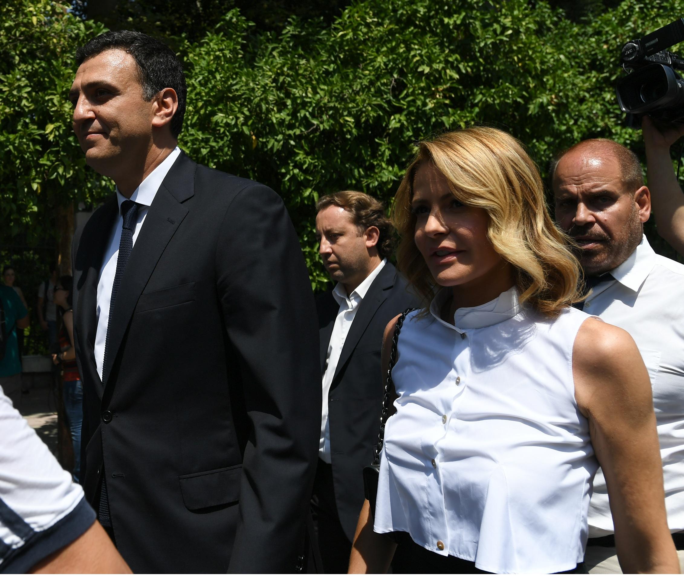 Τζένη Μπαλατσινού και Ευγενία Μανωλίδου, κομψές στην ορκωμοσία της νέας κυβέρνησης! [pics,vid]