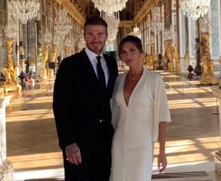 O David Beckham πήγε την Victoria για την 20η επέτειό τους στο παλάτι των Βερσαλλιών! Φωτογραφίες | tlife.gr