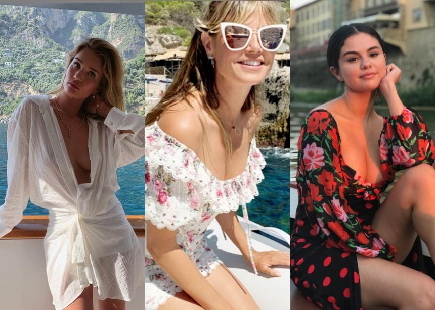 Μαθήματα styling για τα look των διακοπών σου από τις διάσημες!