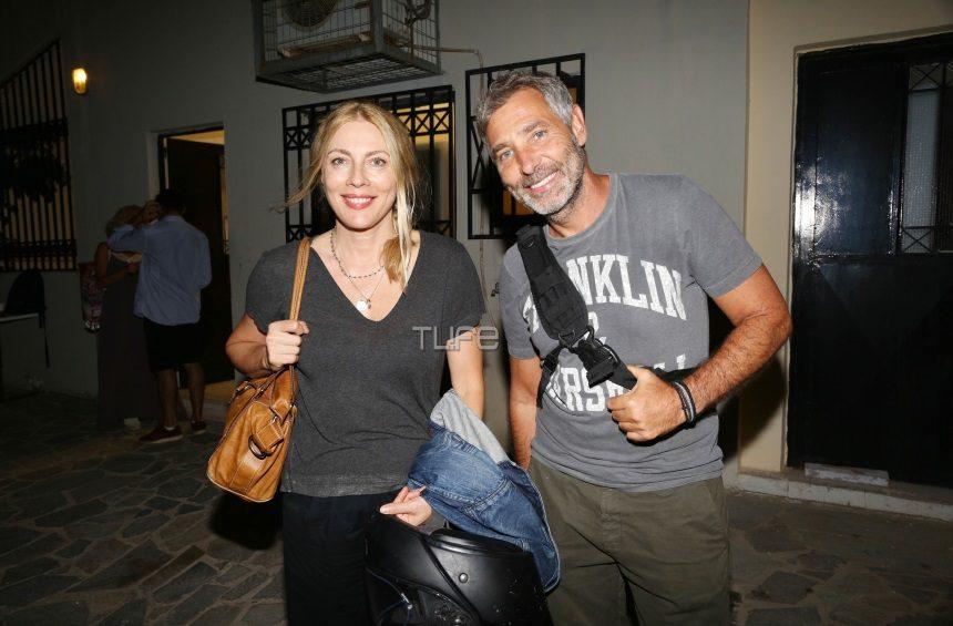 Σμαράγδα Καρύδη - Θοδωρής Αθερίδης: Το θέατρο είναι η μεγάλη τους αγάπη! Νέα έξοδος του ζευγαριού [pics]