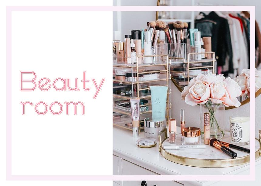 Beauty room: δέκα φωτογραφίες για να φτιάξεις τις πιο stylish beauty γωνιές στο σπίτι σου!