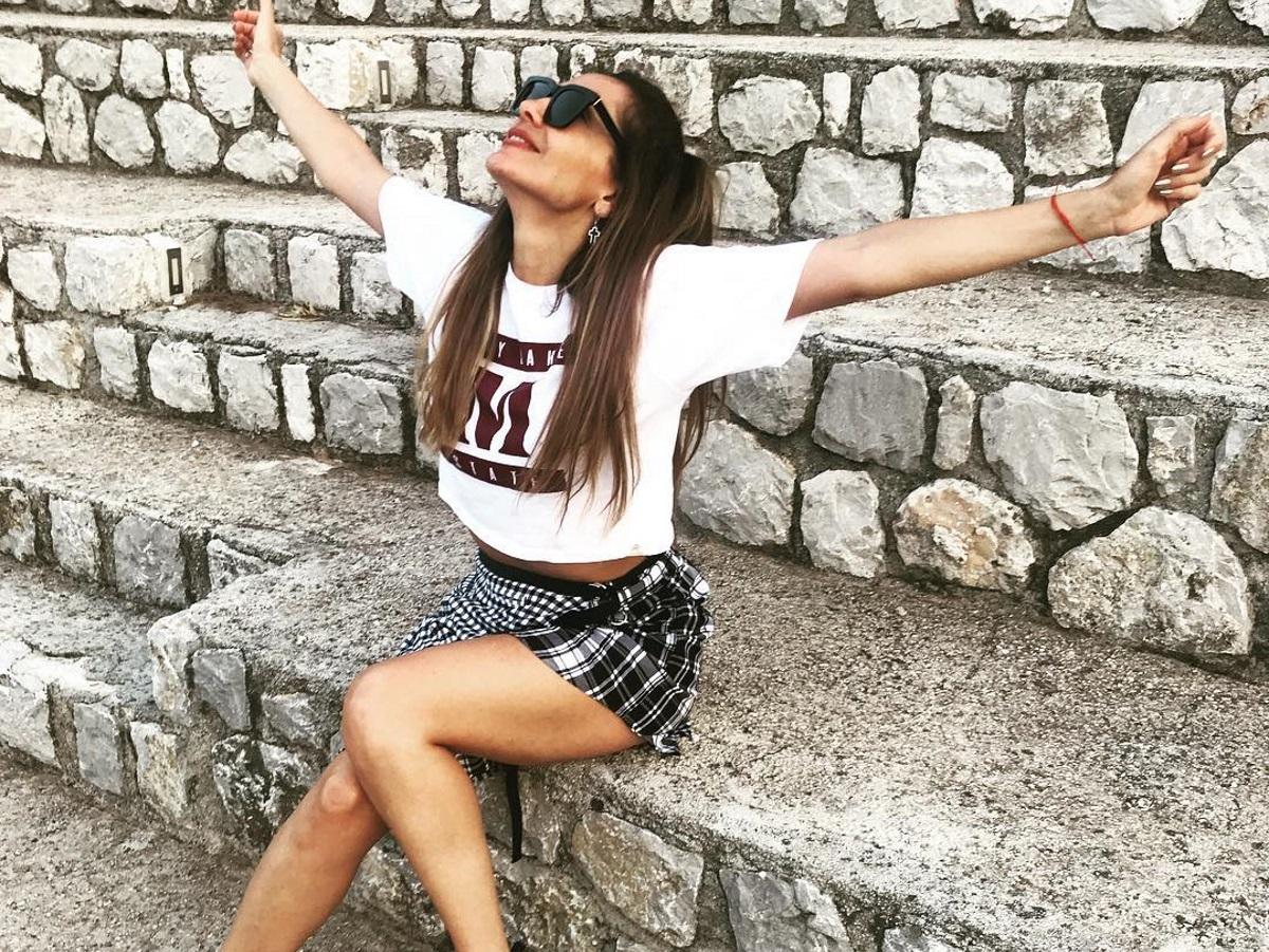 Δέσποινα Βανδή: Οι ξέγνοιαστες στιγμές και οι τελευταίες βουτιές στο Πήλιο πριν την επιστροφή στην Αθήνα [pics]