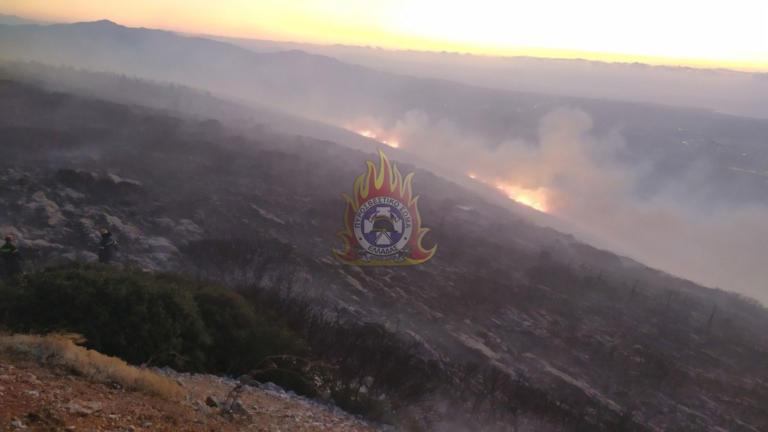 Μεγάλη φωτιά ξέσπασε στον Υμηττό! | tlife.gr