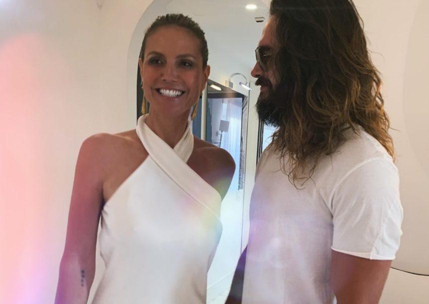 Heidi Klum: Ποζάρει topless στο Instagram για τον νέο της σύζυγο! | tlife.gr