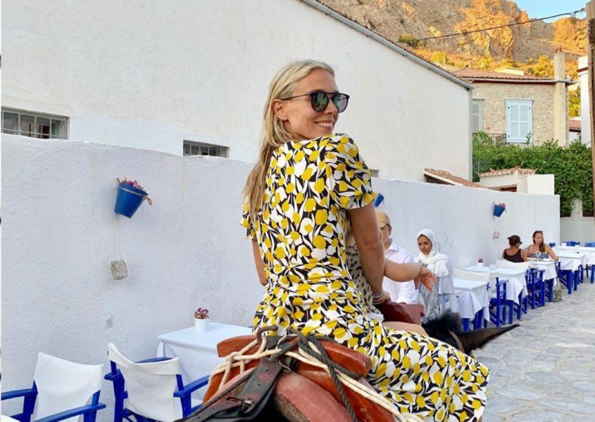 Μαριάννα Γουλανδρή: Στην Ύδρα με την οικογένειά της! [pics] | tlife.gr