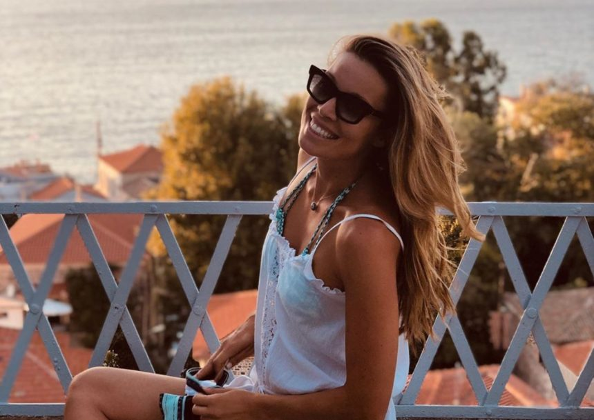 Μαριέττα Χρουσαλά: Καλοκαιρινή απόδραση στην Χίο! [pics] | tlife.gr