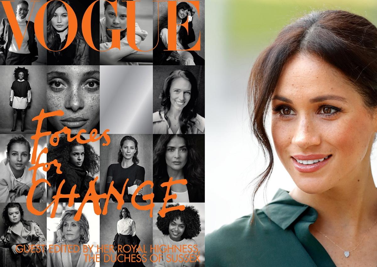 """""""Ουρές"""" για το τεύχος της βρετανικής Vogue με την επιμέλεια της Μέγκαν Μαρκλ!"""