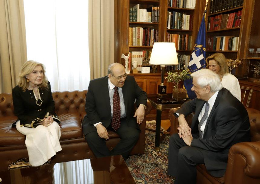 Μαριάννα Βαρδινογιάννη: Συνάντηση με τον Διευθυντή της Βιβλιοθήκης της Αλεξάνδρειας, Mostafa El Feki! | tlife.gr
