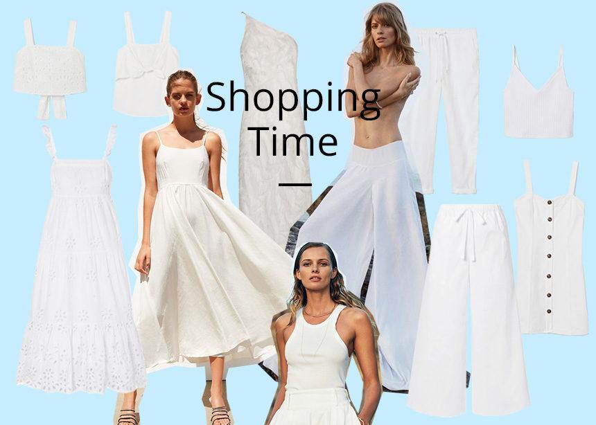 Λευκά: Φόρεσε φορέματα, top και παντελόνια με το χρώμα που θα αναδείξει το μαύρισμα σου. | tlife.gr