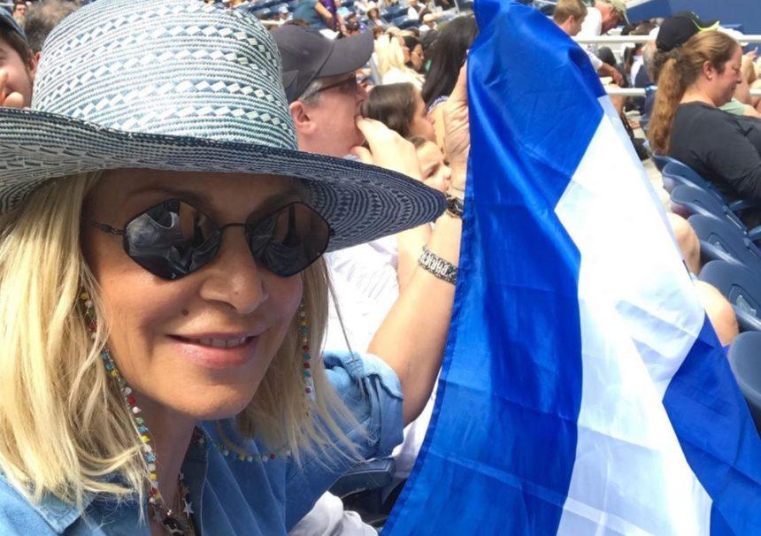 Άννα Βίσση: Γιατί της έκαναν παρατήρηση για την ελληνική σημαία! | tlife.gr