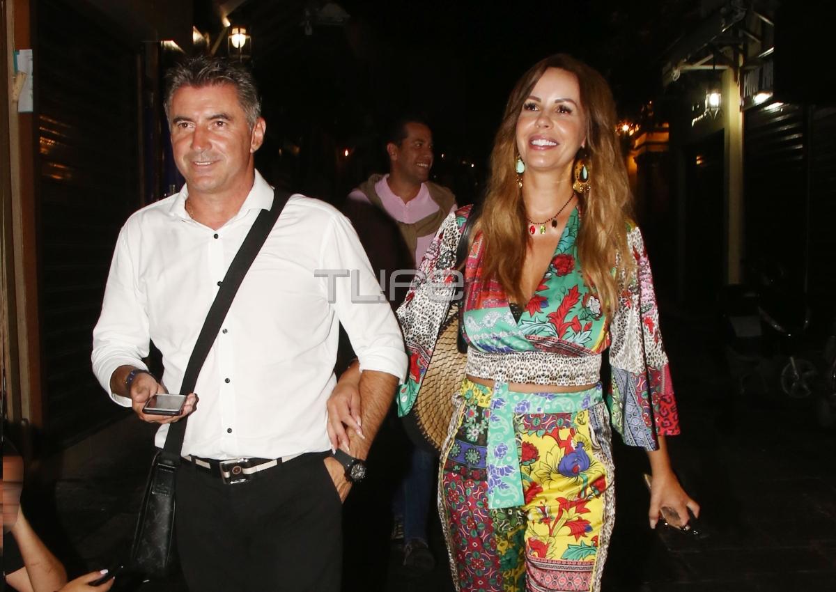 Θοδωρής Ζαγοράκης – Ιωάννα Λίλη: Ρομαντική βόλτα για δύο στο νησί των Ιπποτών! [pics]