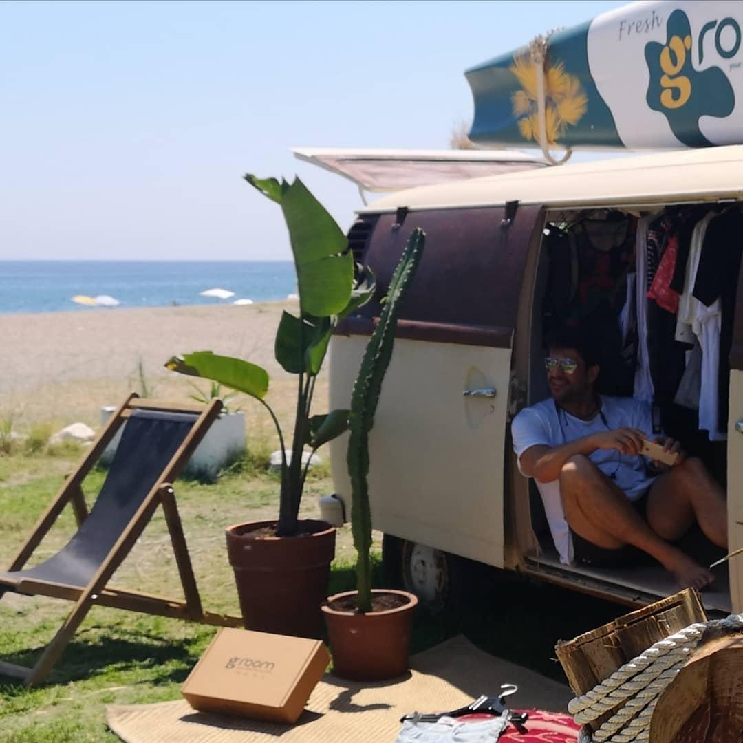 Στον Αγιόκαμπο για διακοπές ο Αλέξης Γεωργούλης - Δείτε φωτογραφίες
