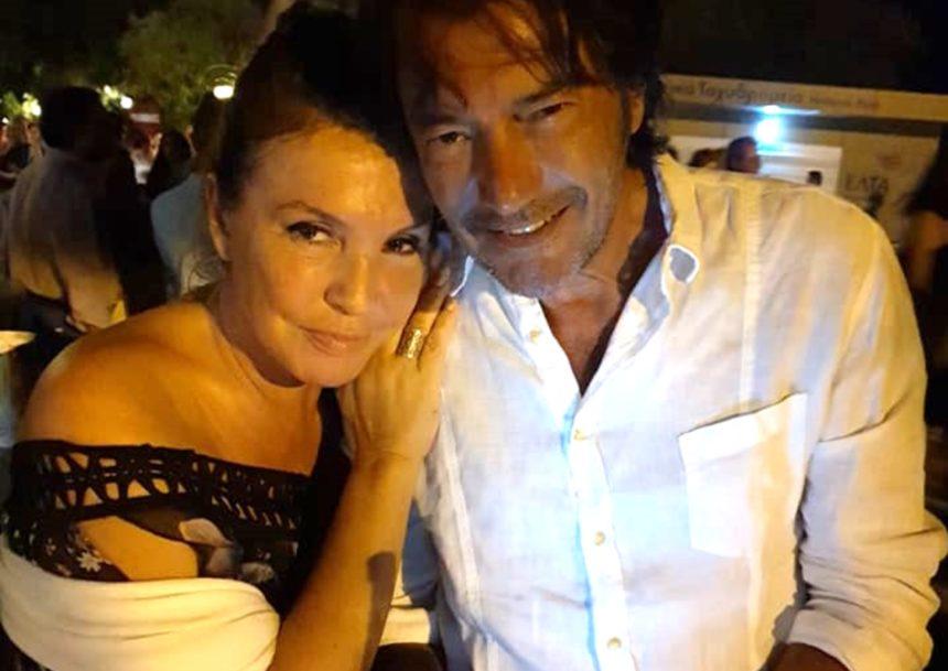 Βάνα Μπάρμπα: Σπάνια εμφάνιση στην Επίδαυρο με τον πρώην Ιταλό σύντροφό της!