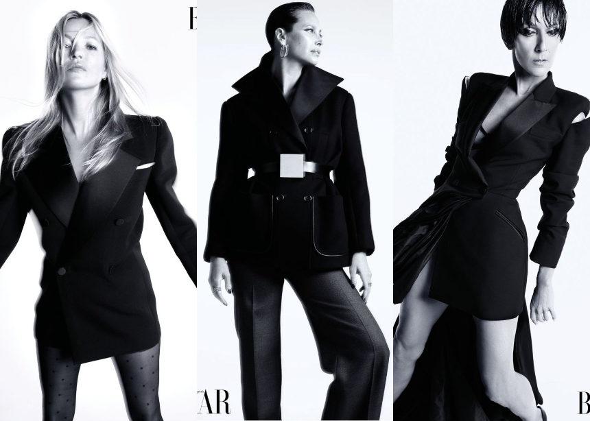 Kate Moss, Celine Dion, Christy Turlington μαζί σε epic editorial! | tlife.gr
