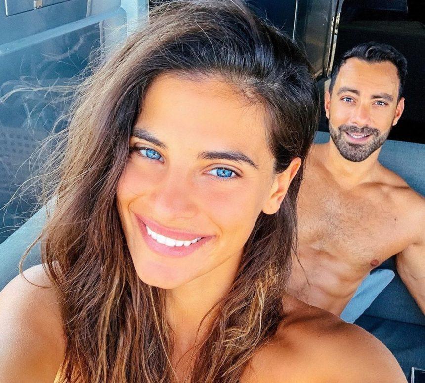 Σάκης Τανιμανίδης - Χριστίνα Μπόμπα: Γιορτάζουν έναν χρόνο γάμου στην Καππαδοκία! [pics,vid]
