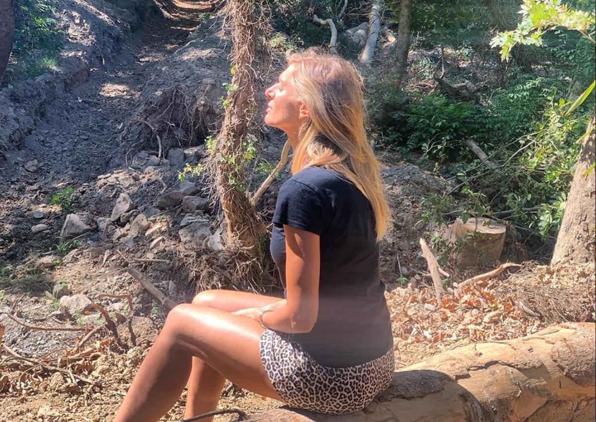 Ζέτα Δούκα: Οι τελευταίες βουτιές με την κόρη της στην Κρήτη! [pics]
