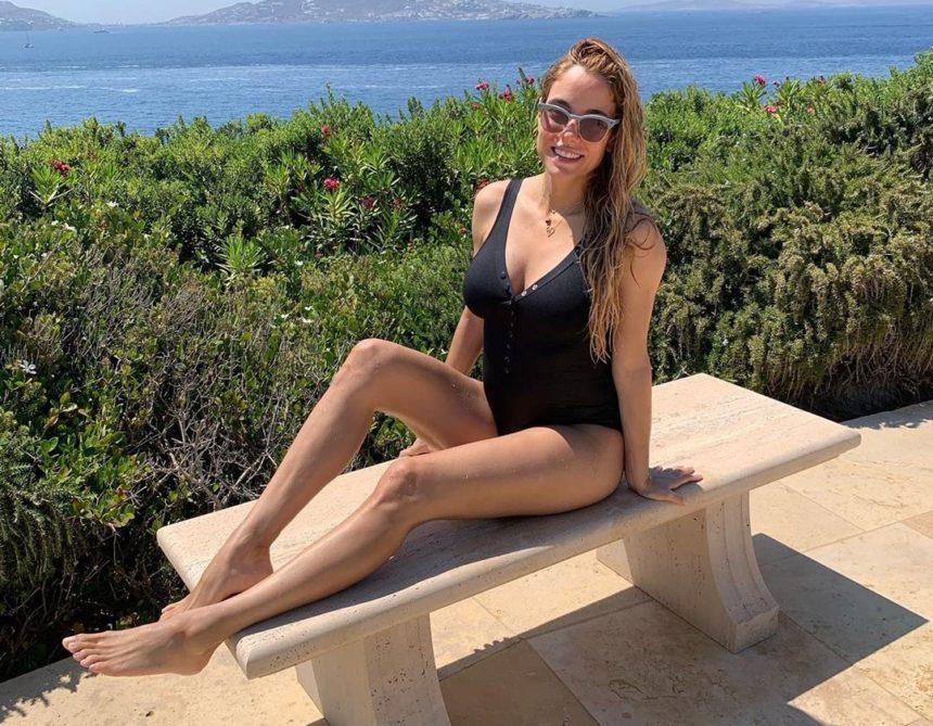 Δούκισσα Νομικού: Αυτή είναι η γυμναστική που κάνει στον όγδοο μήνα της εγκυμοσύνης της! | tlife.gr