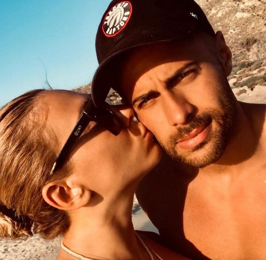 Ευρυδίκη Βαλαβάνη – Κωνσταντίνος Βασάλος: Τα καυτά φιλιά τους μέσα στη θάλασσα! Video | tlife.gr