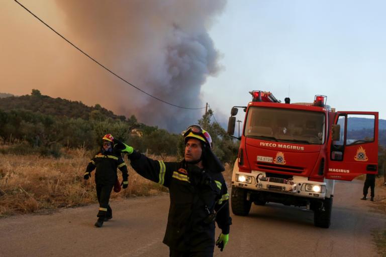 Νύχτα τρόμου στην Εύβοια – Ως τα 20 μέτρα έφθασαν οι φλόγες   tlife.gr