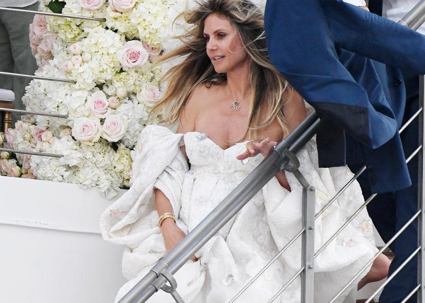 Το νυφικό της Heidi Klum | tlife.gr