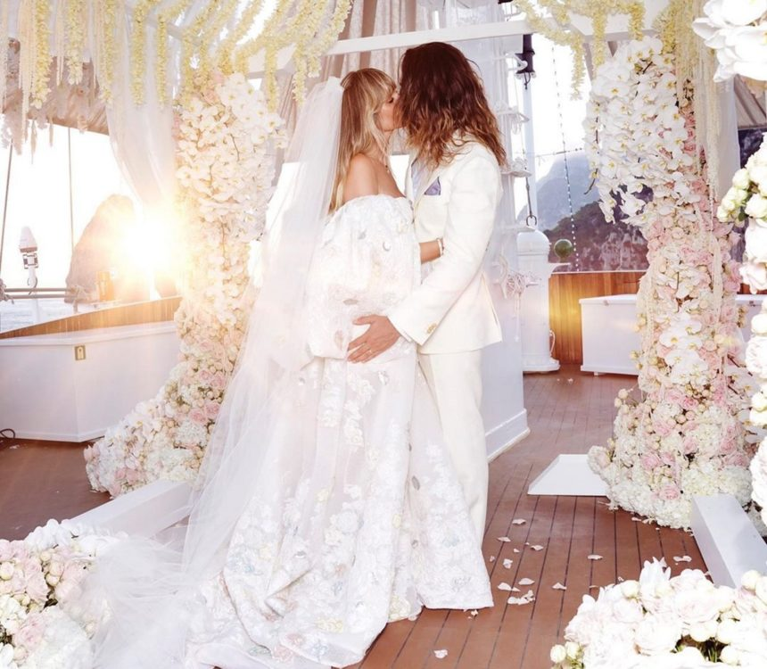 Heidi Klum: Οι πρώτες της αναρτήσεις στο Instagram μετά τον παραμυθένιο γάμο της με τον Tom Kaulitz!   tlife.gr