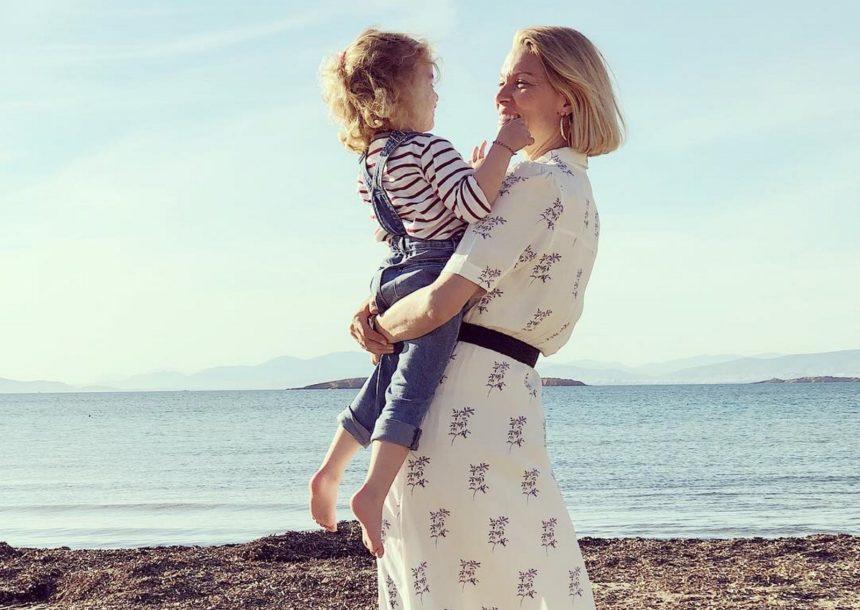 Βίκυ Καγιά: Mαθήματα ιππασίας μαζί με την 4χρονη κόρη της, Μπιάνκα [pics] | tlife.gr