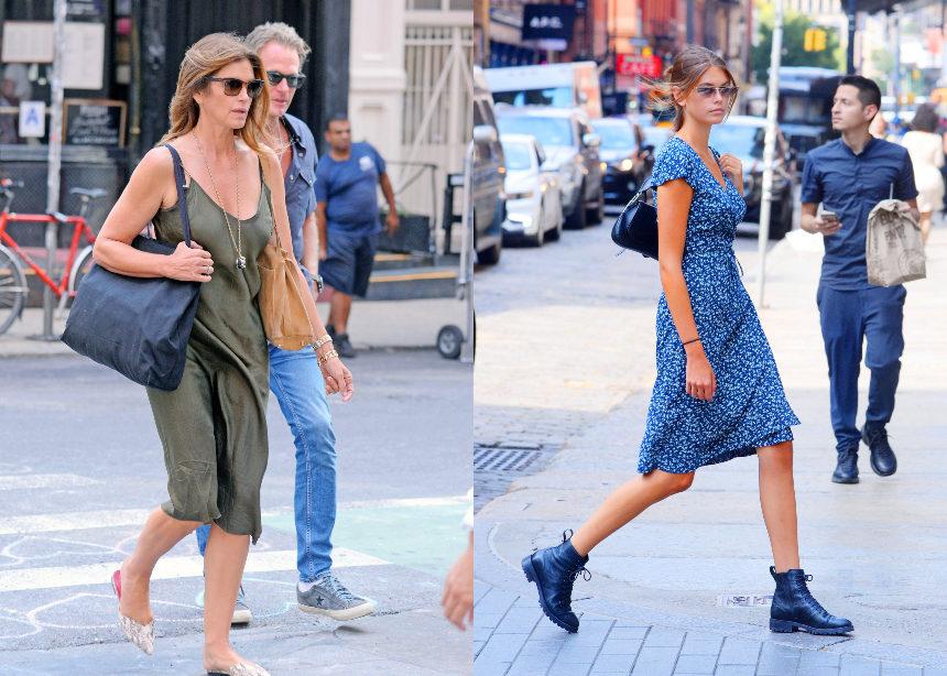 Ψάχνεις καλοκαιρινό φόρεμα; H Cindy Crawford και η Kaia Gerber σου δίνουν 2 super επιλογές! | tlife.gr