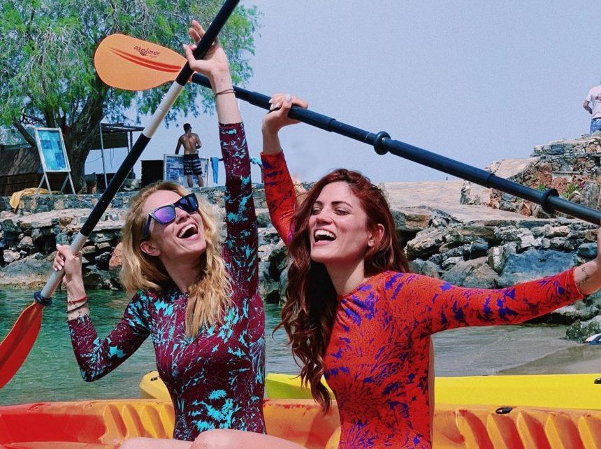 Ντορέττα Παπαδημητρίου - Μαίρη Συνατσάκη: Tour με σκάφος στο Ιόνιο μαζί με φίλους [pics]