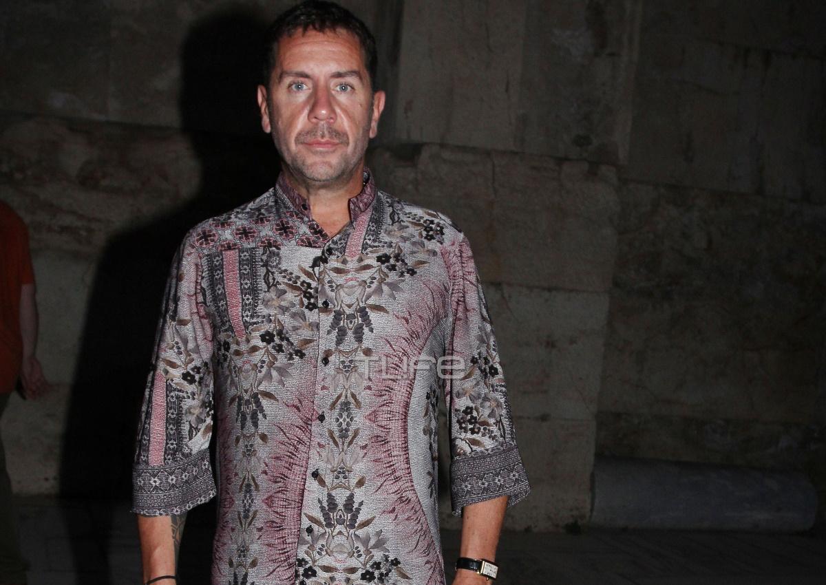 Γιώργος Μαζωνάκης: Στο Ηρώδειο για να στηρίξει τον καλό του φίλο και συνεργάτη, Κωνσταντίνο Ρήγο!