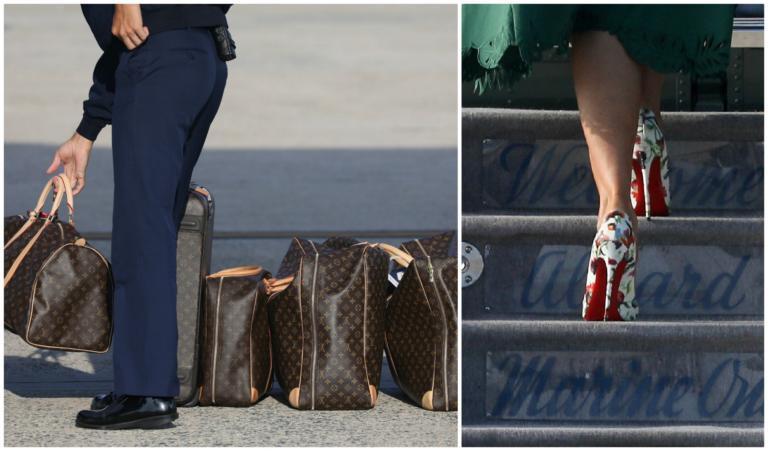 Μελάνια Τραμπ: Δεν χωρούσαν οι Louis Vuitton βαλίτσες στο αεροπλάνο! | tlife.gr