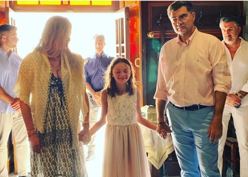 Αλεξάνδρα Πασχαλίδου: Βάφτισε την 11χρονη κόρη της με νονούς τον Γιάννη και την Μελίσσα Βαρδινογιάννη! [pics] | tlife.gr