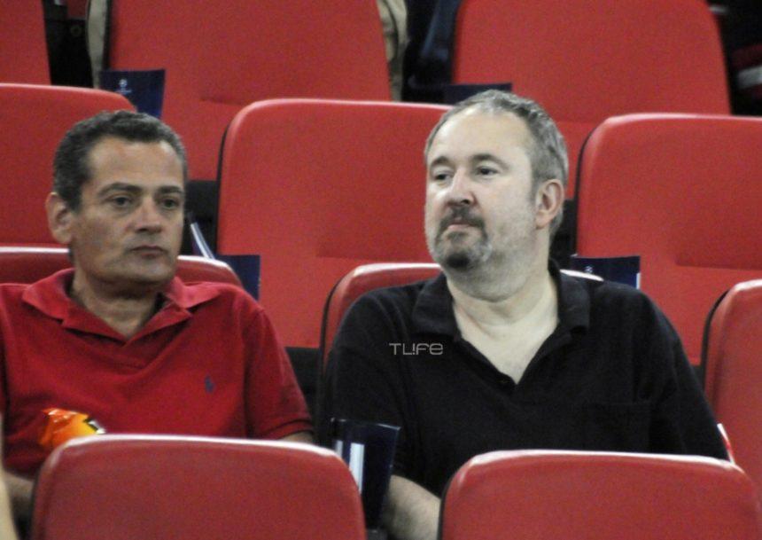 Γιάννης Παπαμιχαήλ: Σπάνια δημόσια εμφάνιση στο γήπεδο! [pics] | tlife.gr