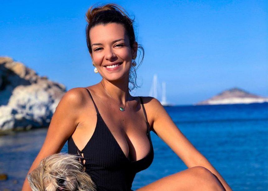 Νικολέττα Ράλλη: Χαλαρή και ανανεωμένη συνεχίζει τις διακοπές της στην Πάτμο [pics] | tlife.gr