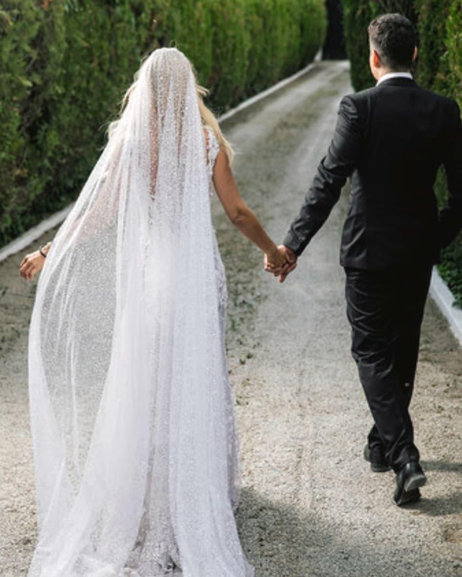 Έλενα Ράπτη: Παντρεύτηκε κρυφά τον αγαπημένο της! Φωτογραφίες