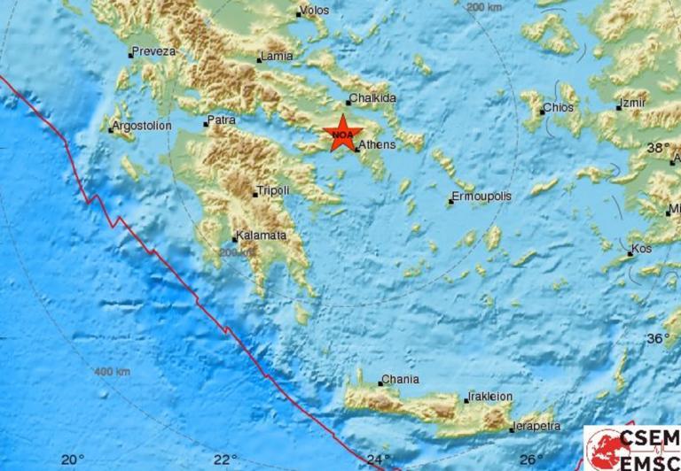 Σεισμός 4 Ρίχτερ κοντά στη Μαγούλα – Αισθητός στην Αθήνα | tlife.gr
